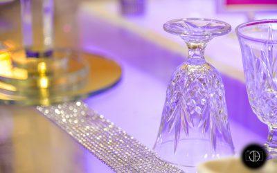 Mariage oriental à Toulouse, décoration de table
