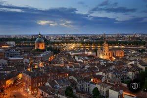 Toulouse - Vue du quartier Saint Cyprien