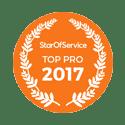 Label Top Pro 2017 sur StarOfService