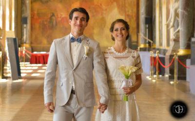 Mariage civil au Capitole de Toulouse