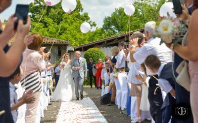Mariage au Château de Loubejac, cérémonie laïque