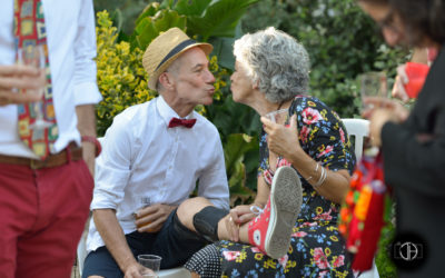 Photographe mariage Toulouse, invités durant le cocktail