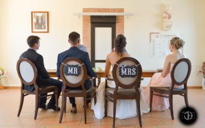 Photographe mariage Occitanie, mairie de Castelmaurou