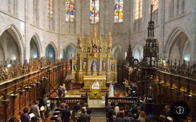 Intérieur de la Cathédrale Notre Dame de Saint Bertrand de Comminges, Photographe mariage