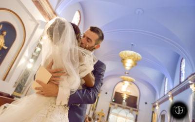 Mariage religieux, Eglise de Castelginest, Photographe Occitanie