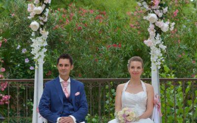 Cérémonie laïque mariage Moulin de Rudelle Muret