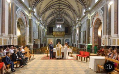 Mariage intérieur église Muret