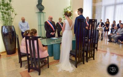 Mariage civil, intérieur mairie Colomiers