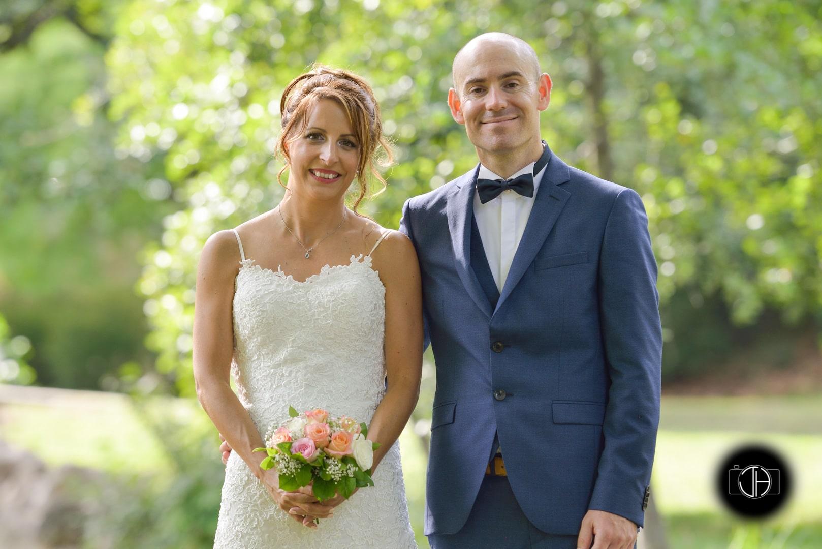 Couple mariage parc Muret