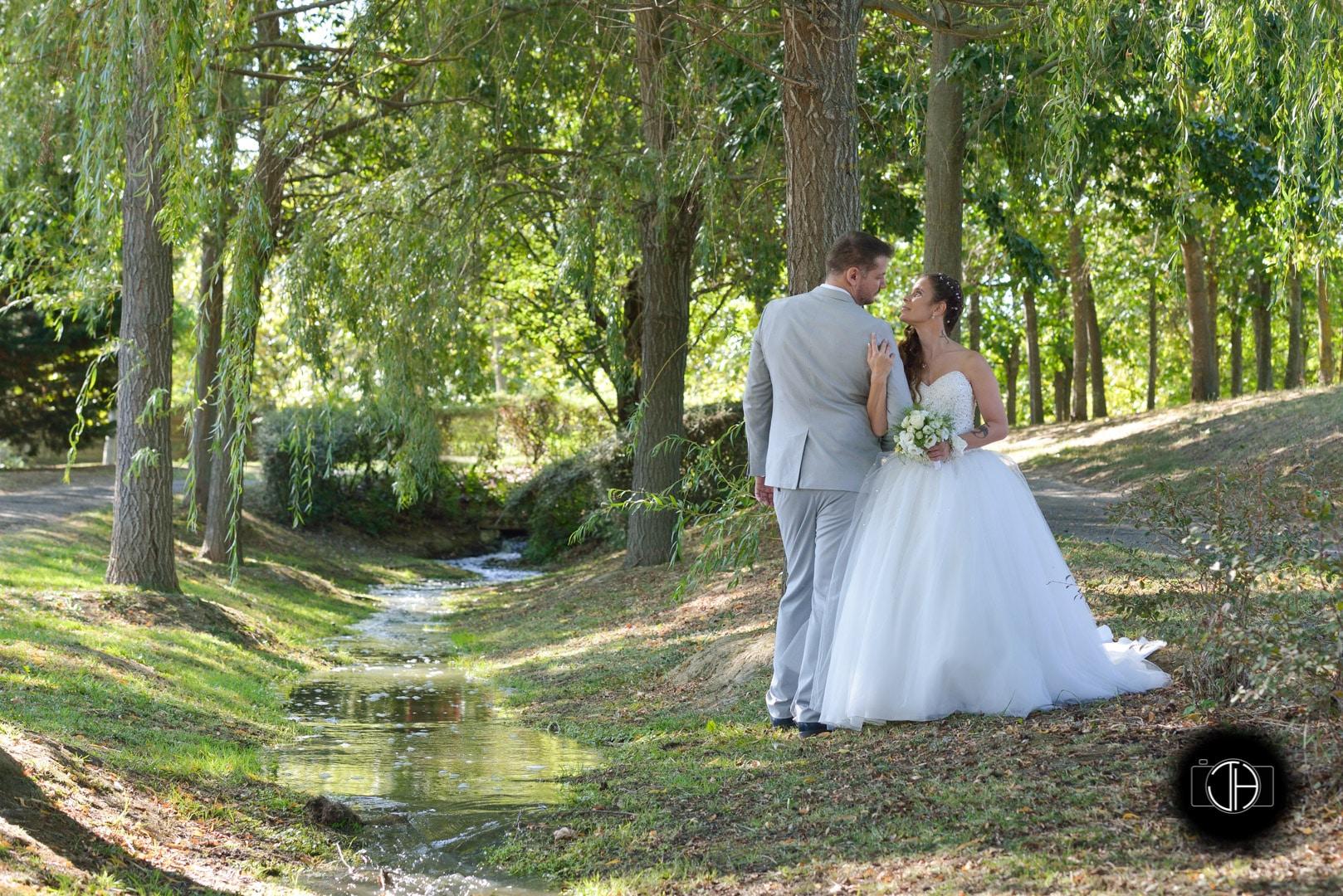 Photo couple mariage parc Ritouret Blagnac