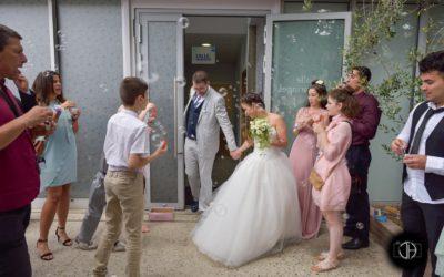 Photo sortie mariage mairie Blagnac