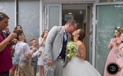 Photographe mariage sortie mairie Blagnac