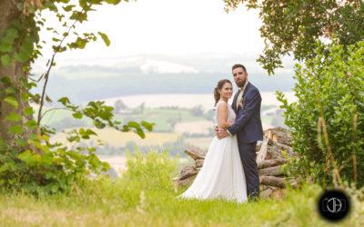 photo mariage champêtre Occitanie