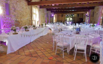Château du Croissilat, intérieur salle réception