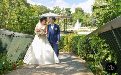 Photographie de mariage à Toulouse, Square Boulingrin