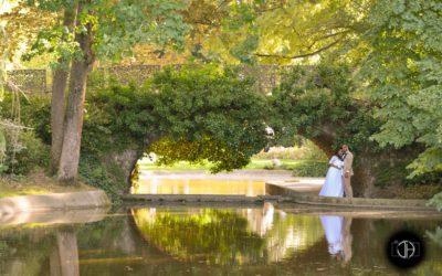 Lac, Jardin Royal à Toulouse, Photo de mariage