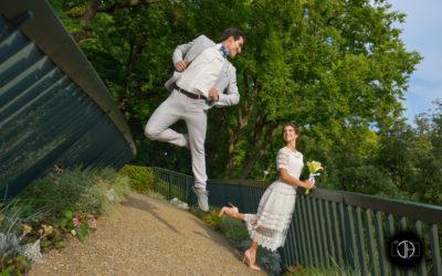 Passerelle d'accès vers le Jardin Royal depuis le Grand Rond, Photographe de mariage