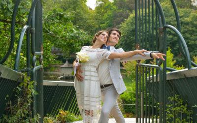 Entrée du Jardin Royal depuis le Grand Rond, Photo de mariage