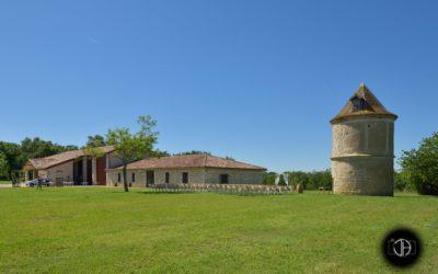 La ferme de la Culture à Touget, lieu de réception mariage Gers
