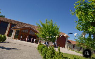 La ferme de la Culture à Touget, réception de mariage