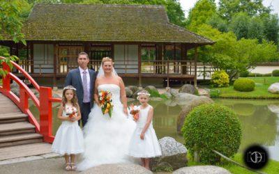 Kiosque du Jardin Japonnais à Toulouse, Photo de mariage