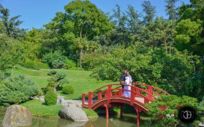 Jardin Japonnais de Toulouse, Photographie de mariage