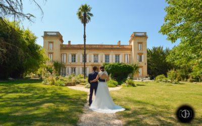 Le Château du Calaoué, Photo de mariage dans le Gers